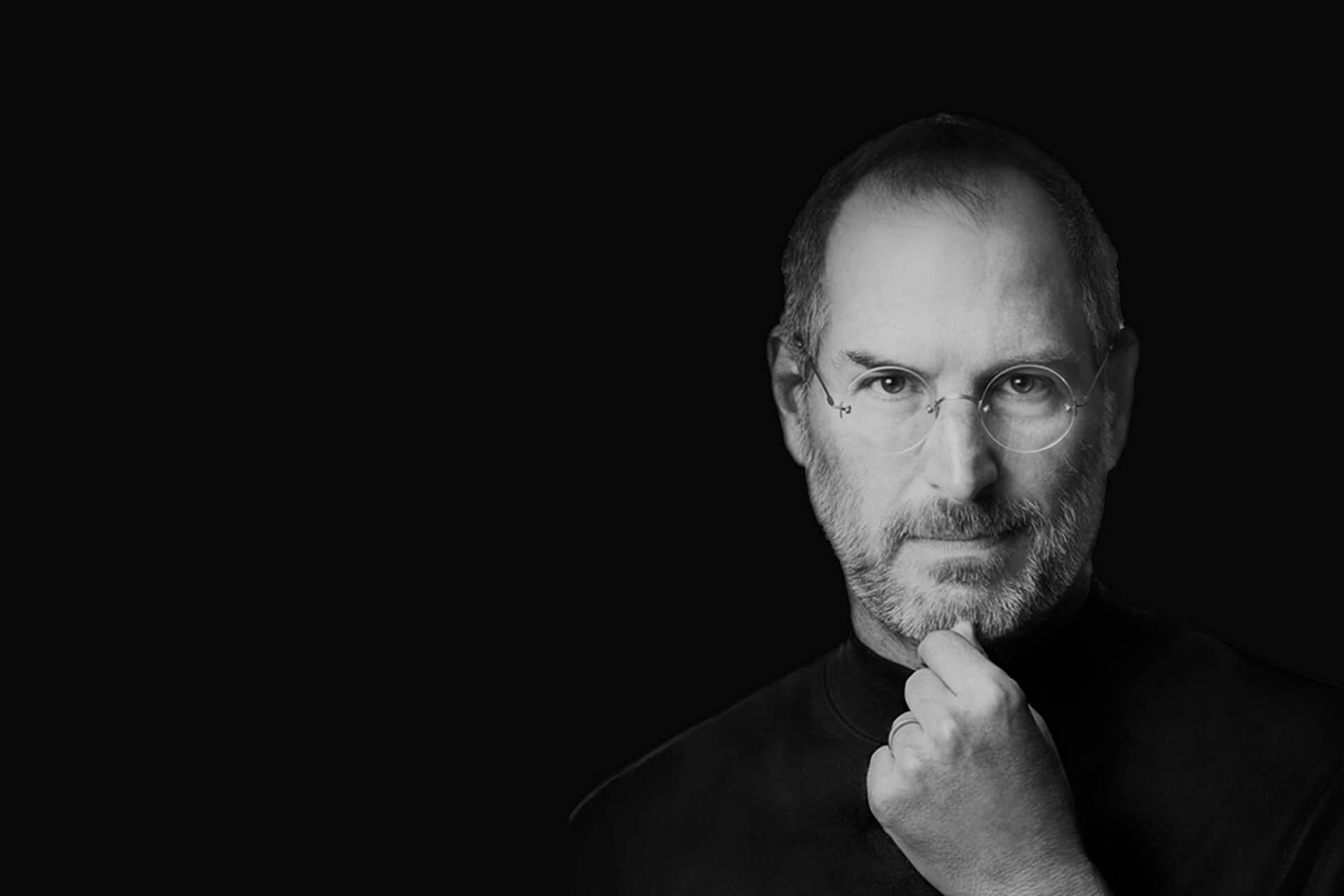 Vision Steve Jobs banner